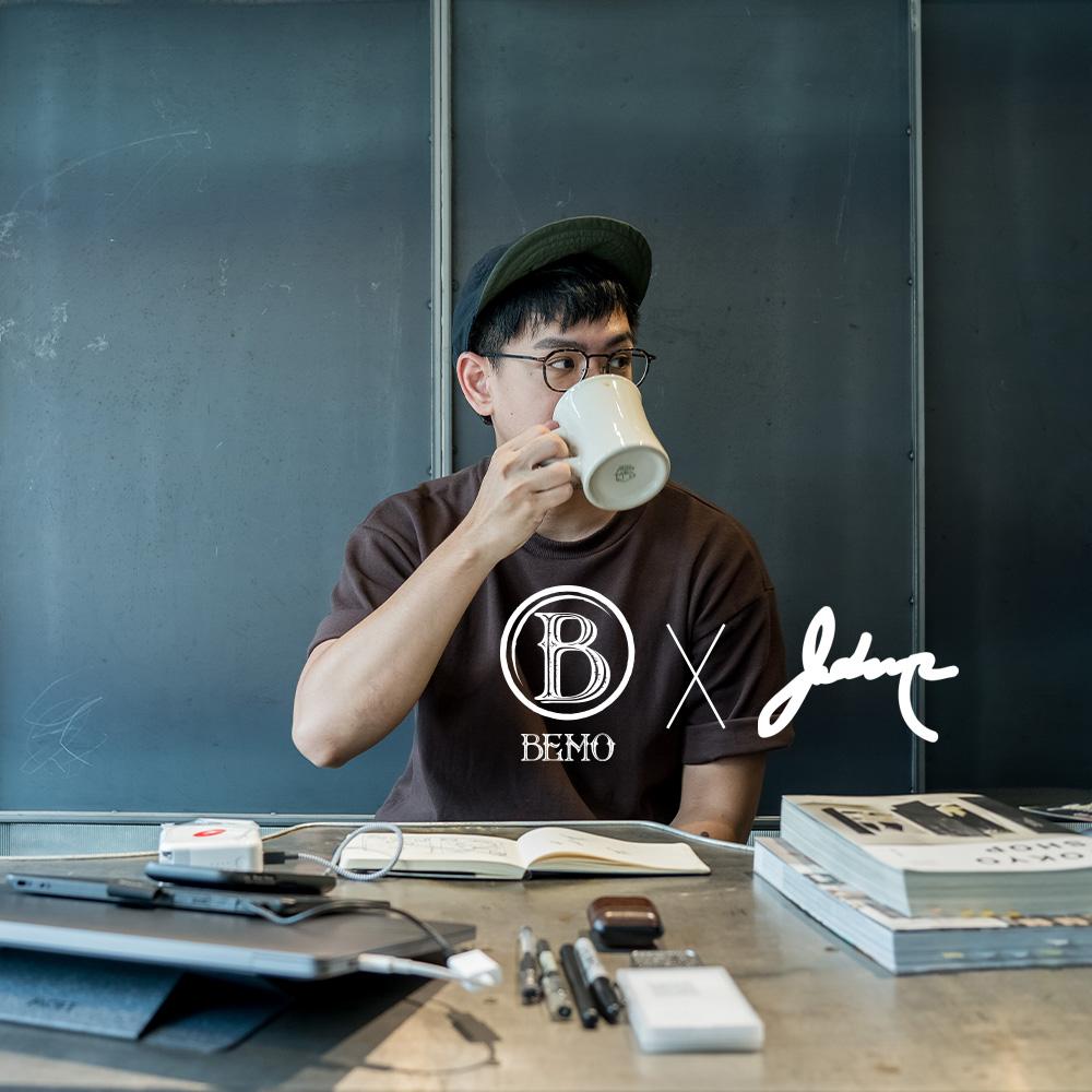 BEMO Cafe X Johnnp 創作者聯名系列 / 哥倫比亞.喬丹 水洗